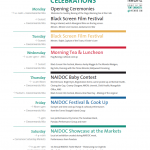 Poster Design for Carnarvon NAIDOC Celebrations 2012